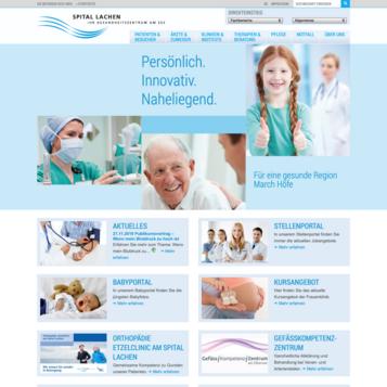 Spital Lachen - Ihr Gesundheitszentrum am See
