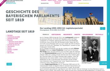 Detailansicht Landtag