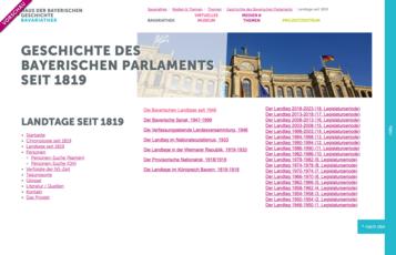 Listing der Landtage