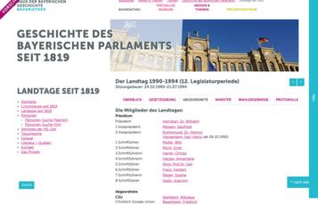 Abgeordnete des Landtages