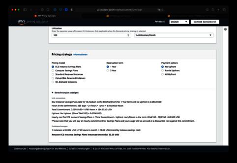 Amazon AWS EC2 Preisstrategie