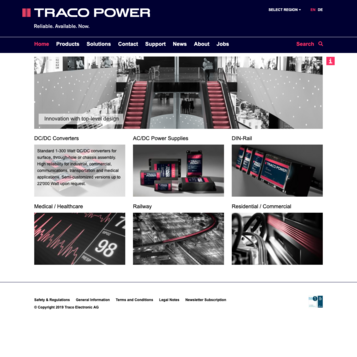 TRACO POWER | Reliable.Available.Now.