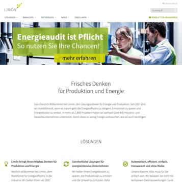 Limon GmbH - Lösungsanbieter für Energie und Produktion
