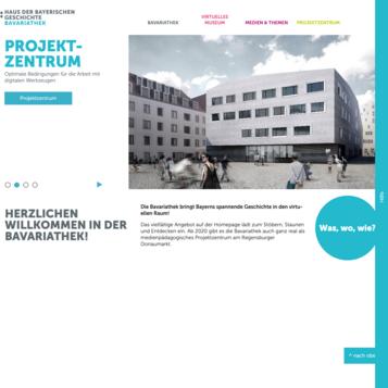 Bavariathek - Haus der Bayerischen Geschichte
